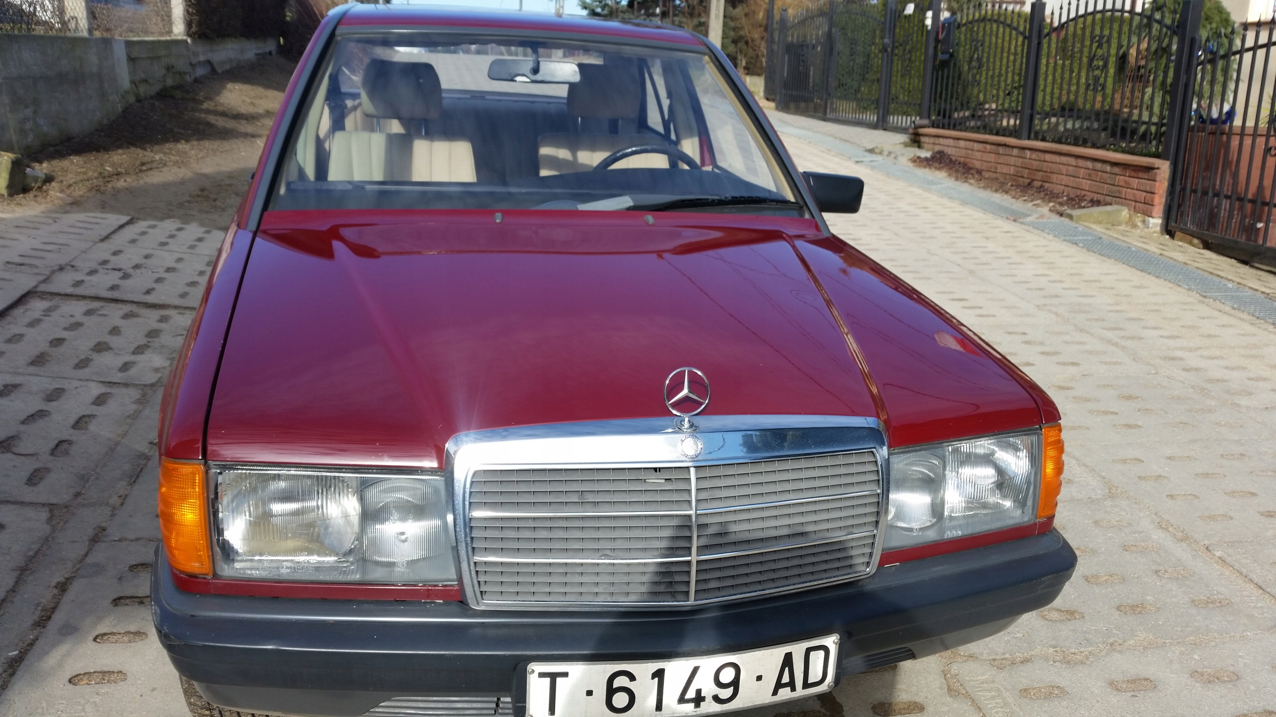 Mercedes 190D Model Kolekcjonerski