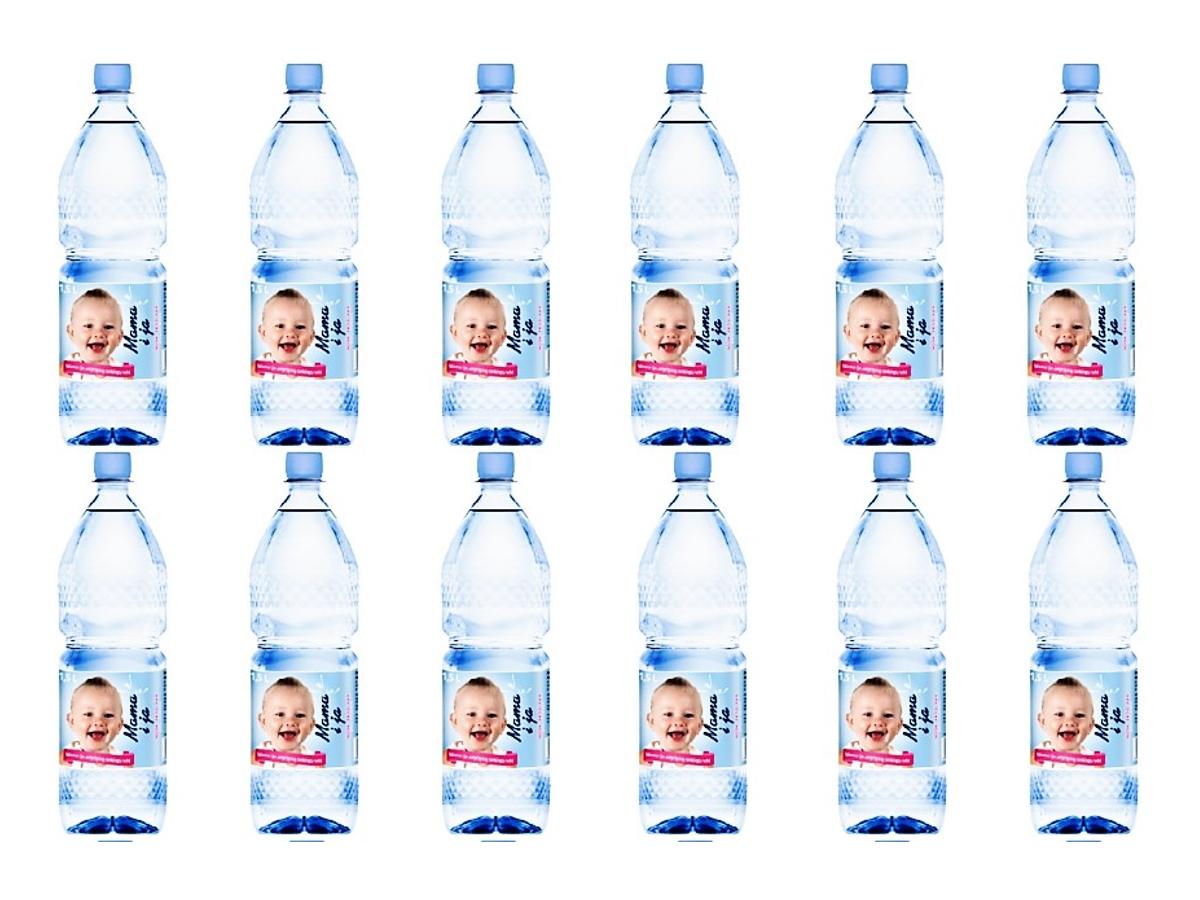 Woda źródlana niegazowana MAMA i JA 12x 1,5L od 1r