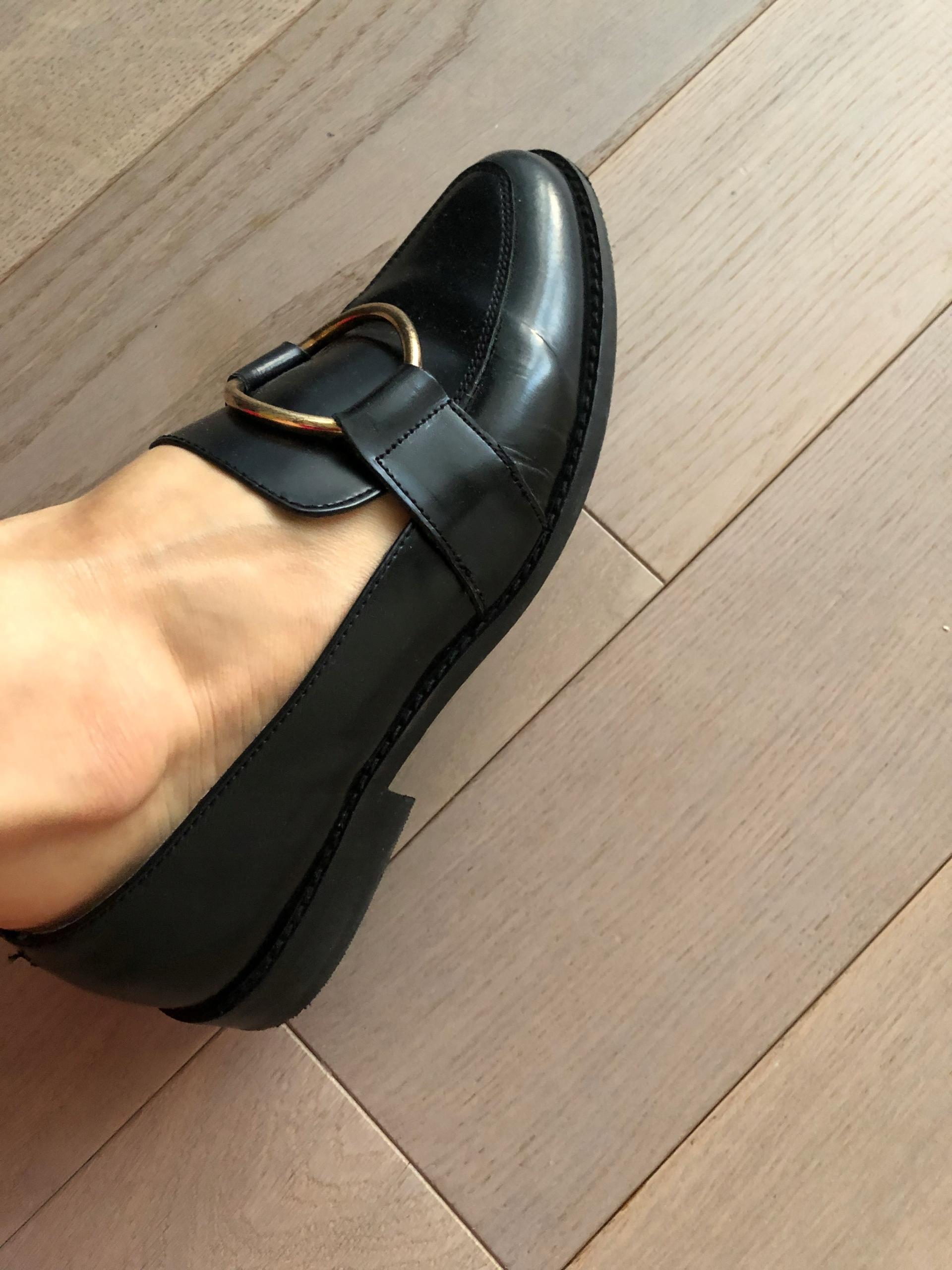 Mokasyny buty 40 Asis do pracy czarne koło
