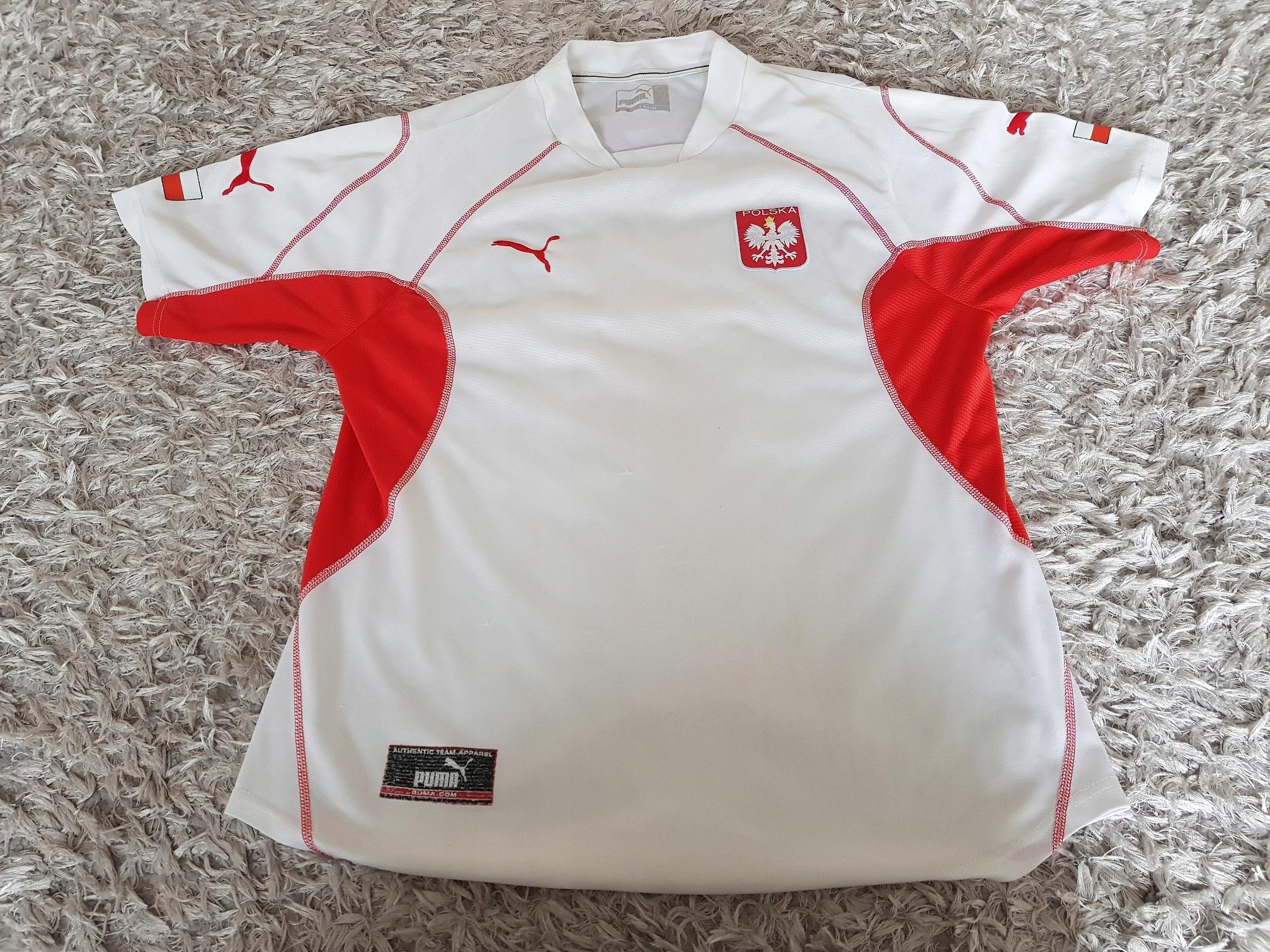 Oryginalna Koszulka Reprezentacji Polski Puma L
