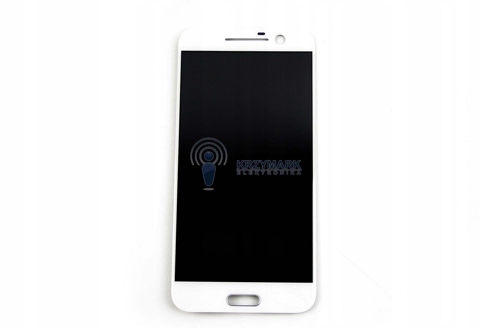 LCD WYŚWIETLACZ DIGITIZER DOTYK HTC M10 BIAŁY 10