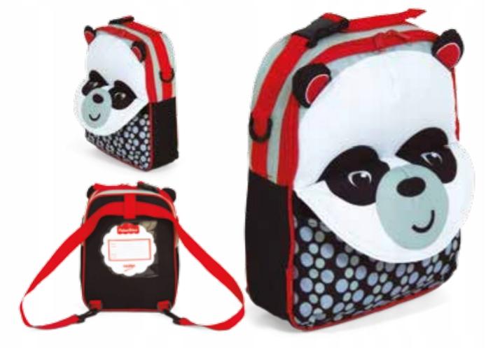 Plecak 3w1 Fisher Price - Panda 3D