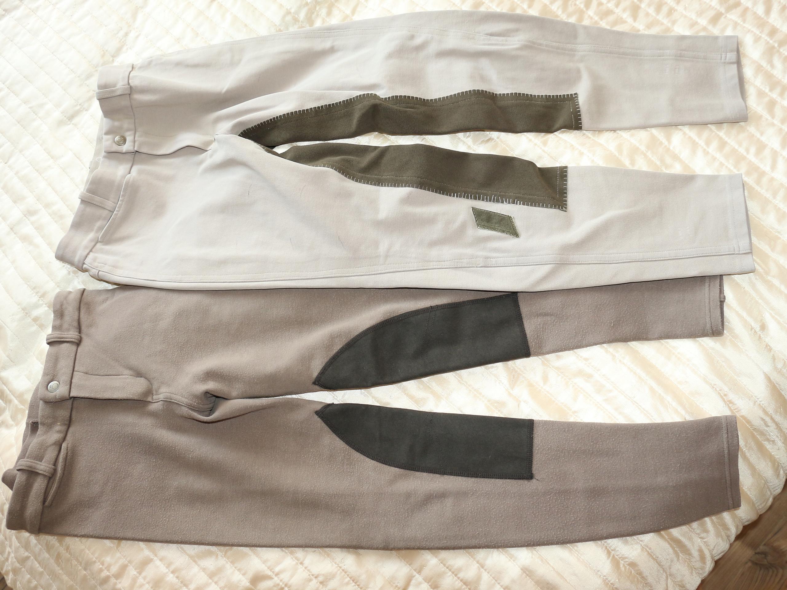 Bryczesy spodnie jazda konna fouganza 140 - 146