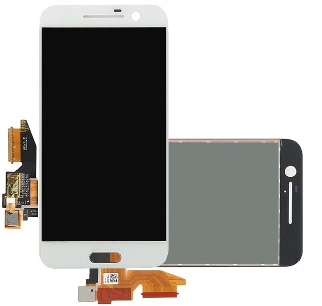 BIAŁY WYŚWIETLACZ DOTYK LCD DIGITIZER HTC ONE M10