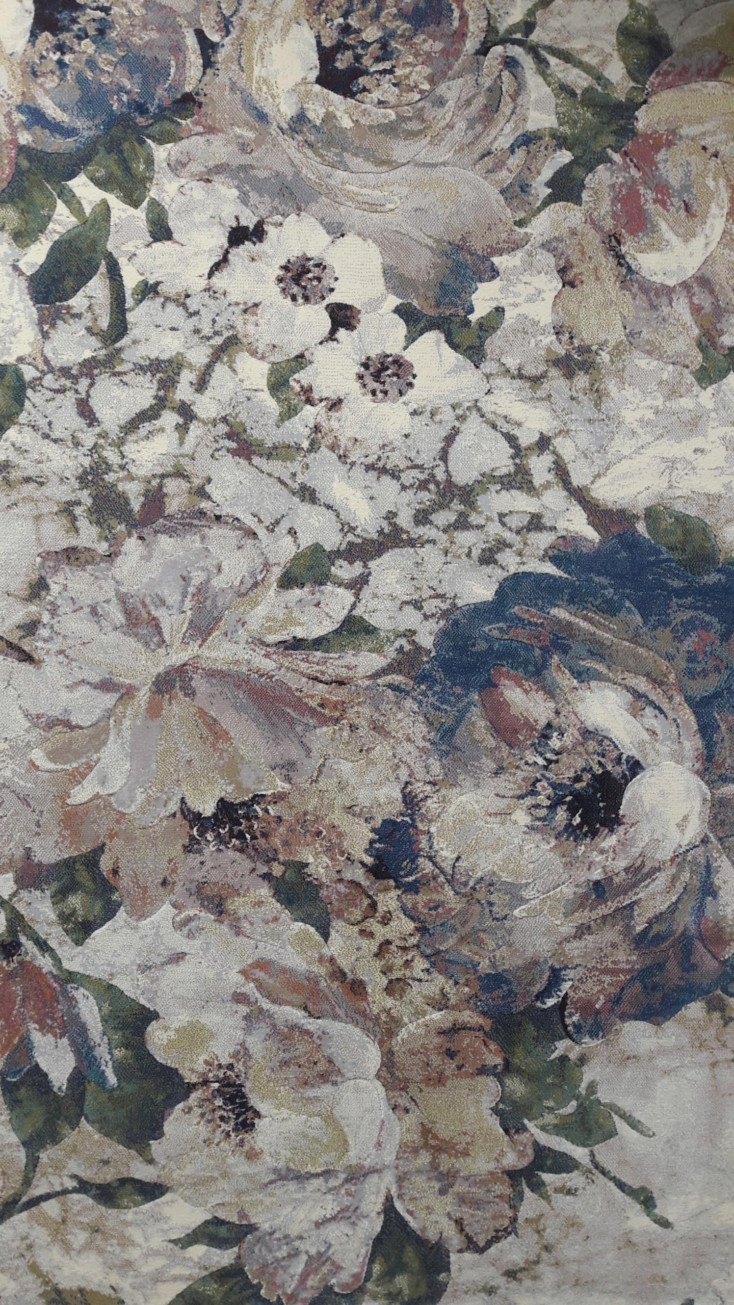 Dywan Kwiaty Argentum 160x230 Piękny 7619318949