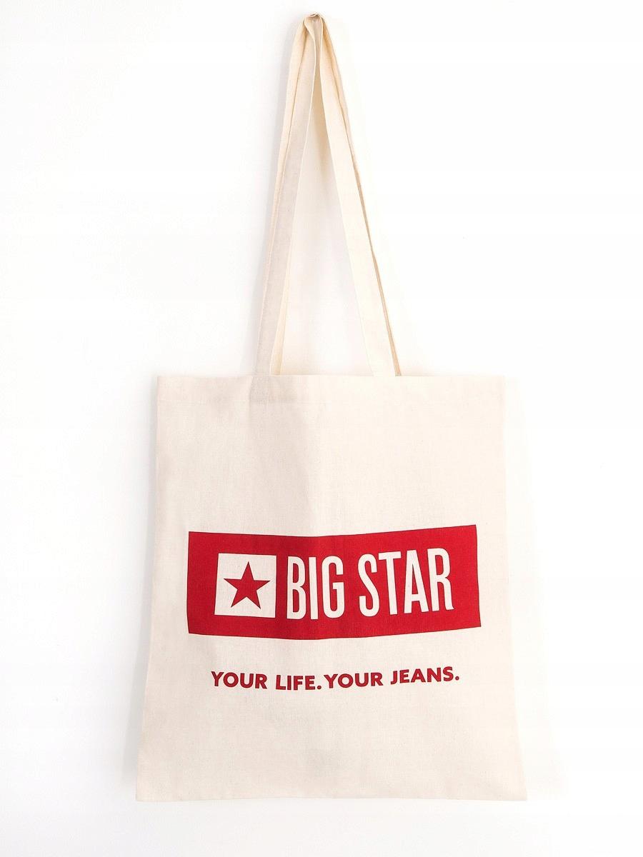 c7365399356a3 BIG STAR TORBA BAWEŁNIANA EKO UNISEX 108 --40 - 7842673514 ...