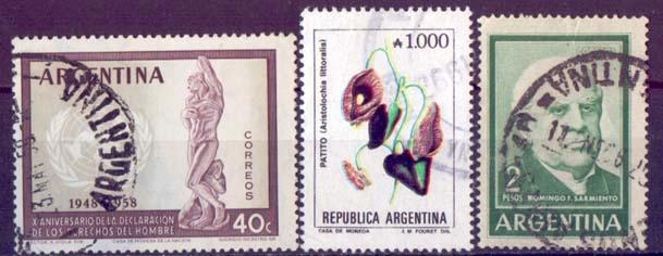 EA 6-3 - ARGENTYNA - cenne stare znaczki