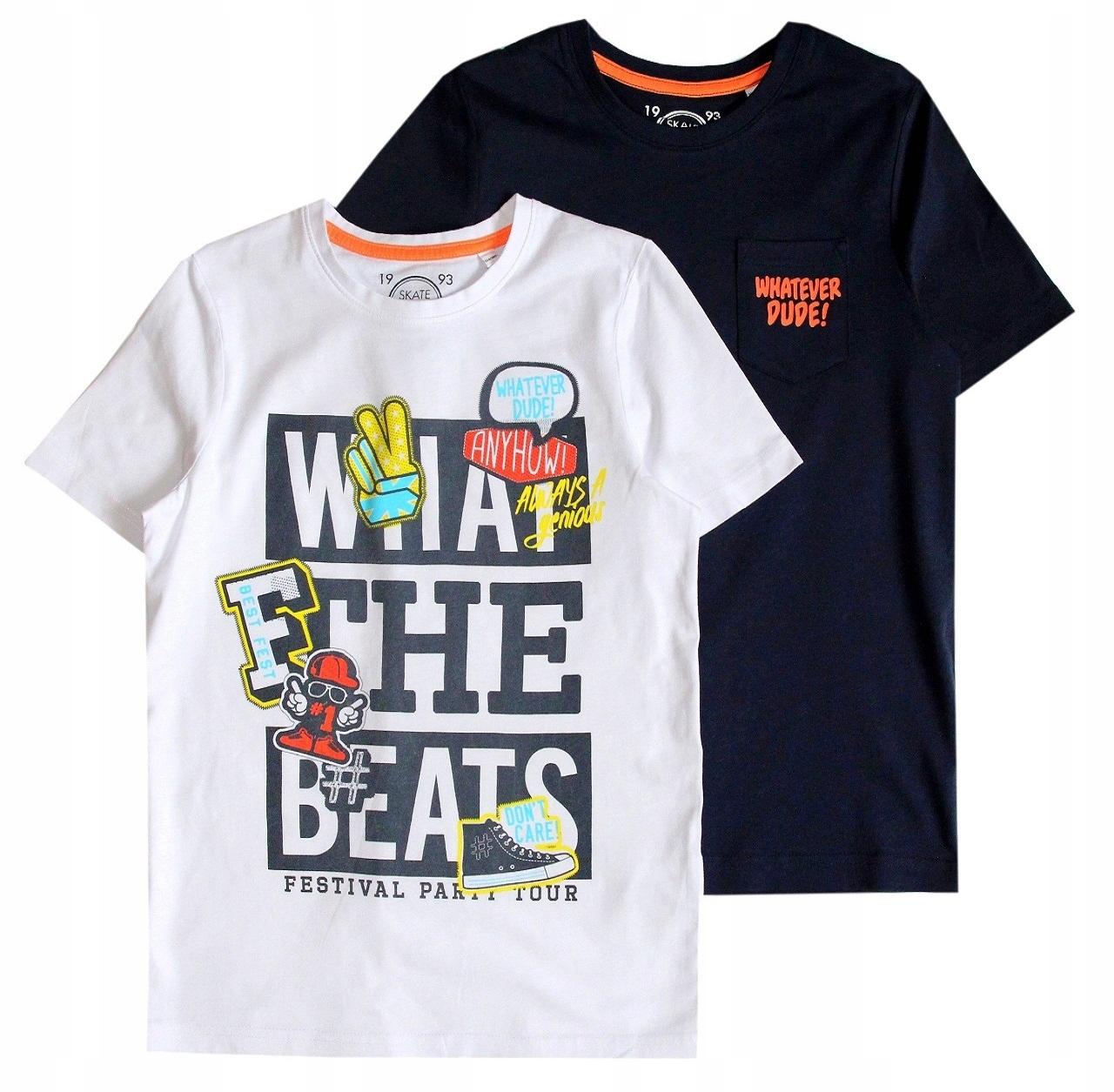 C&A T-shirt 170 -176 NOWA GRANAT