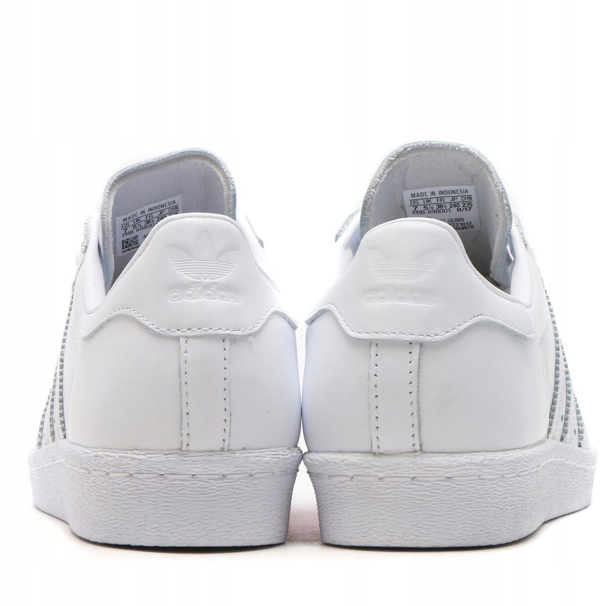 8dc4bbe5 Buty Adidas SUPERSTAR CQ3009 białe Walentynki 41 - 7820186703 ...