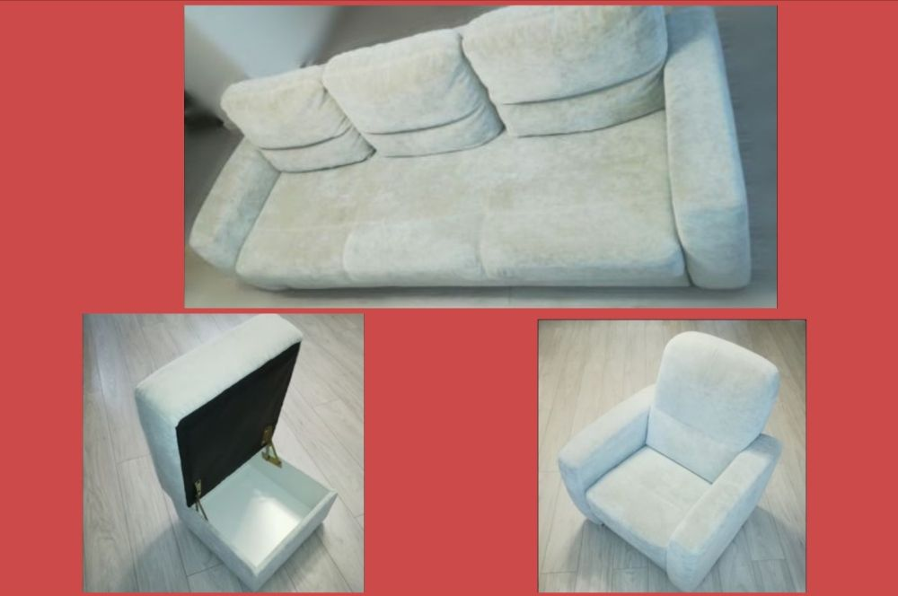 60 Sofa Fotel Pufa 4569zl Agata Meble 7792852816