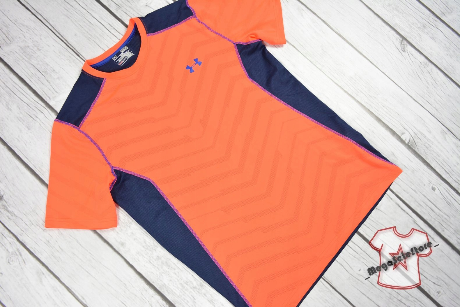 UNDER ARMOUR HEATGEAR FITTED KOSZULKA_Rozmiar M