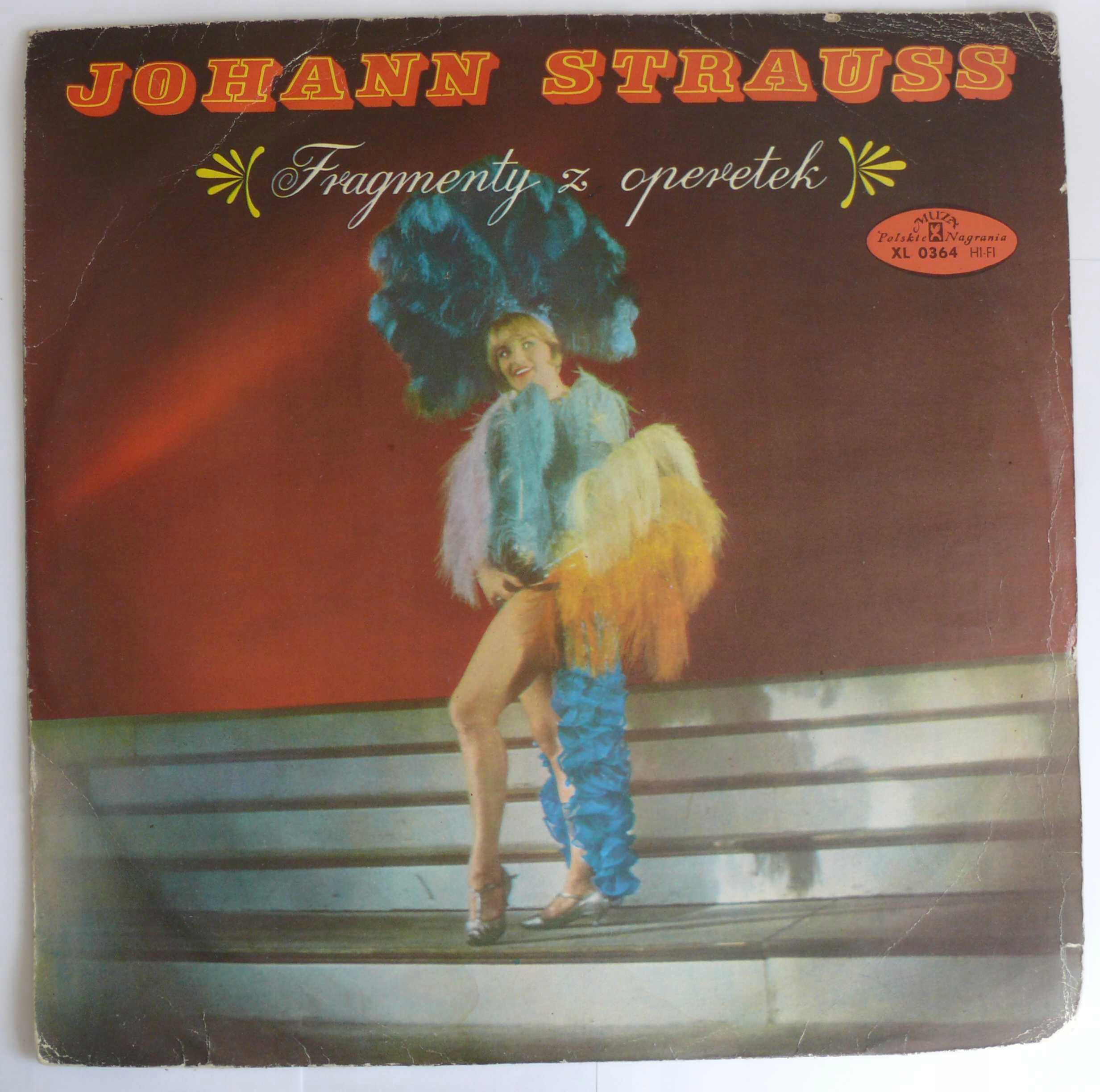 Johann Strauss operetki