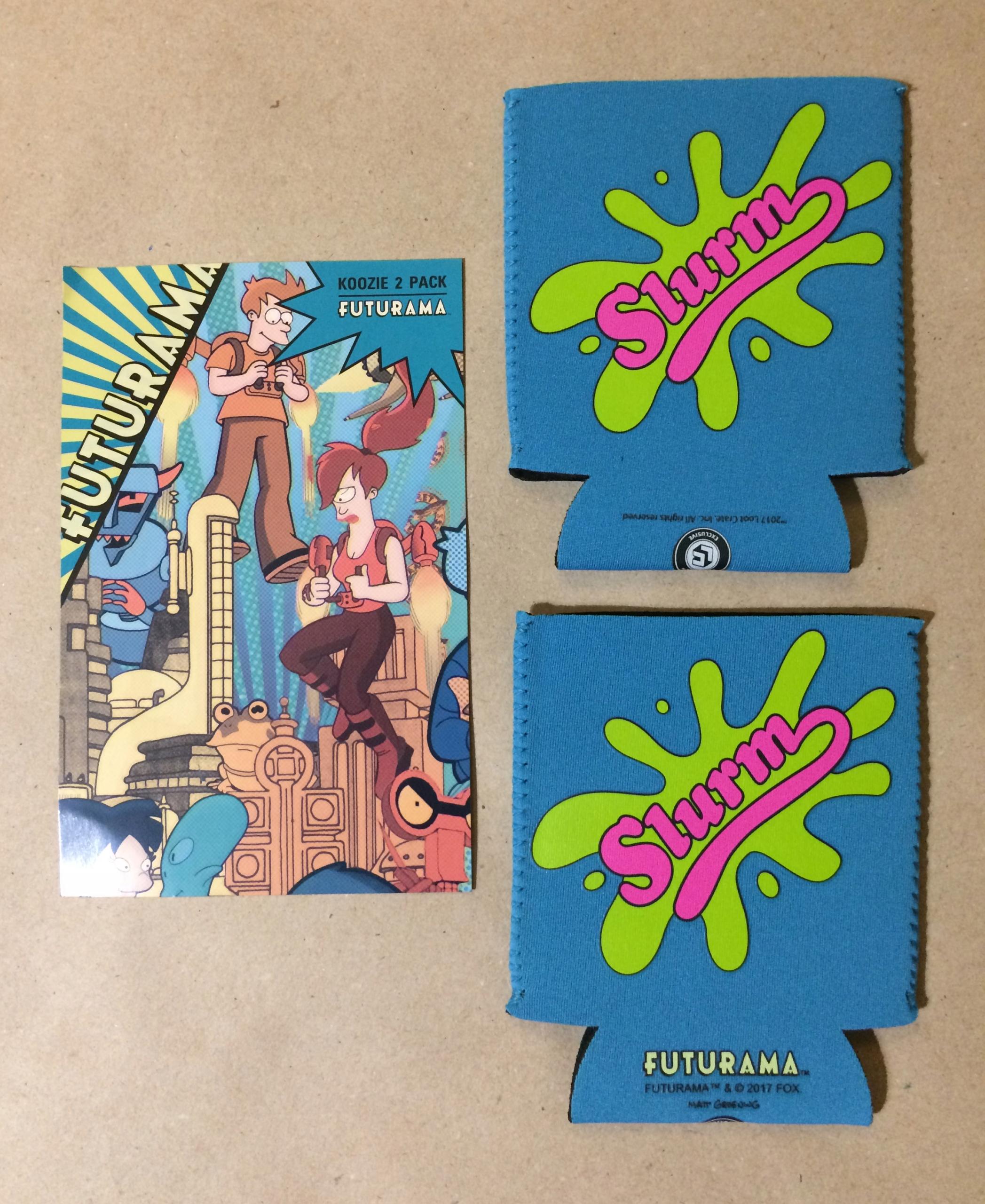 SLURM koozie 2 pack FUTURAMA unikat! na puszkę - 7640312300