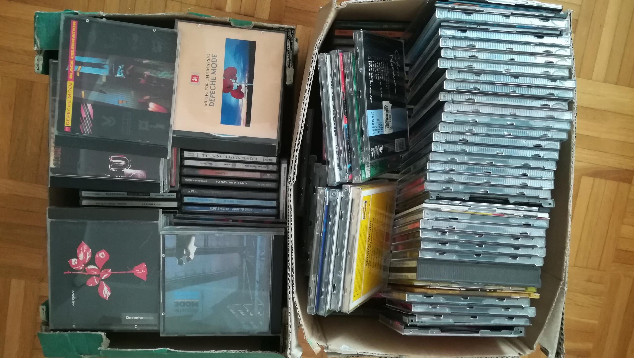 Płyty cd muzyka