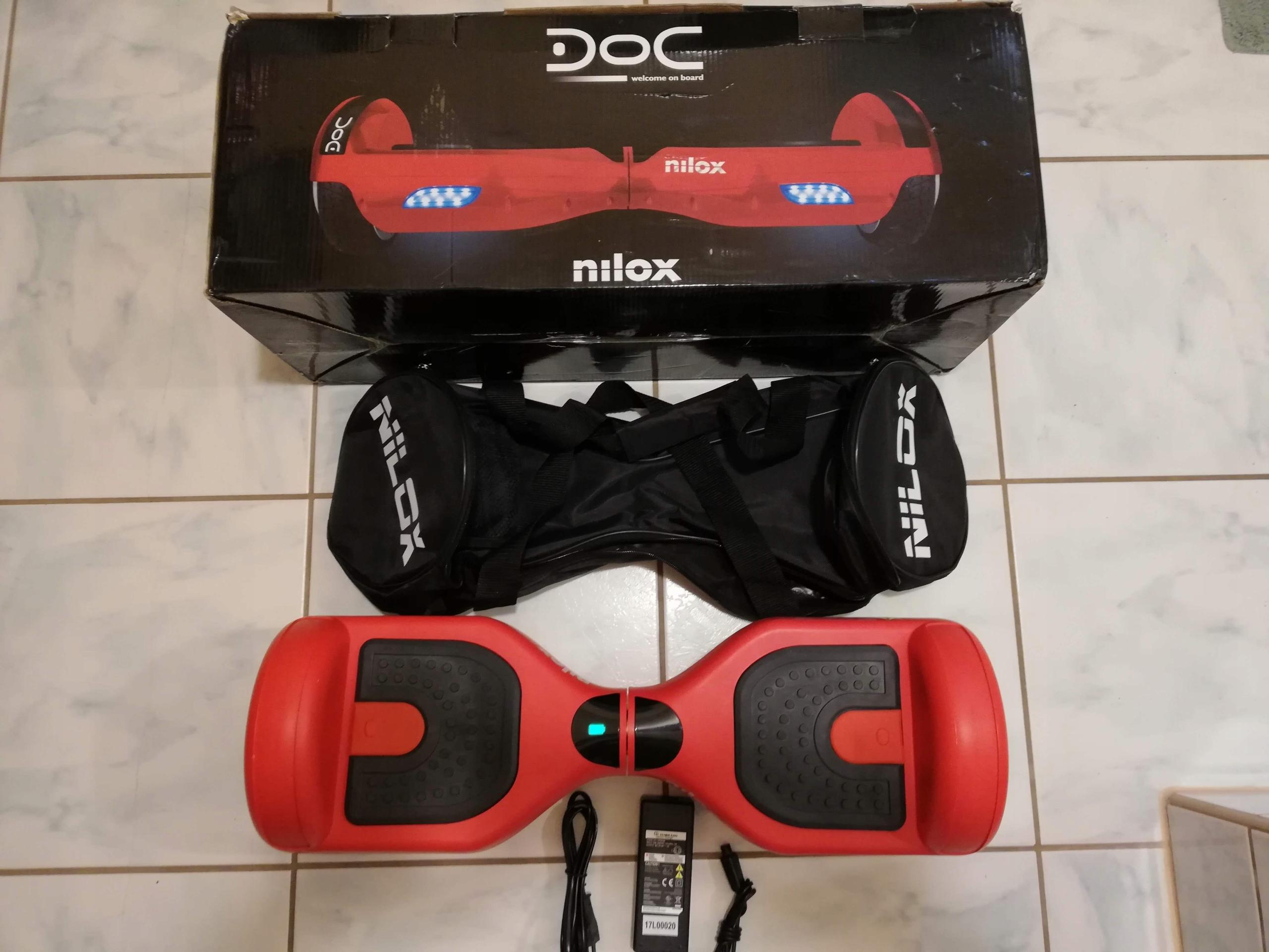 NILOX Deskorolka Elektryczna Hoverboard JAK NOWA!