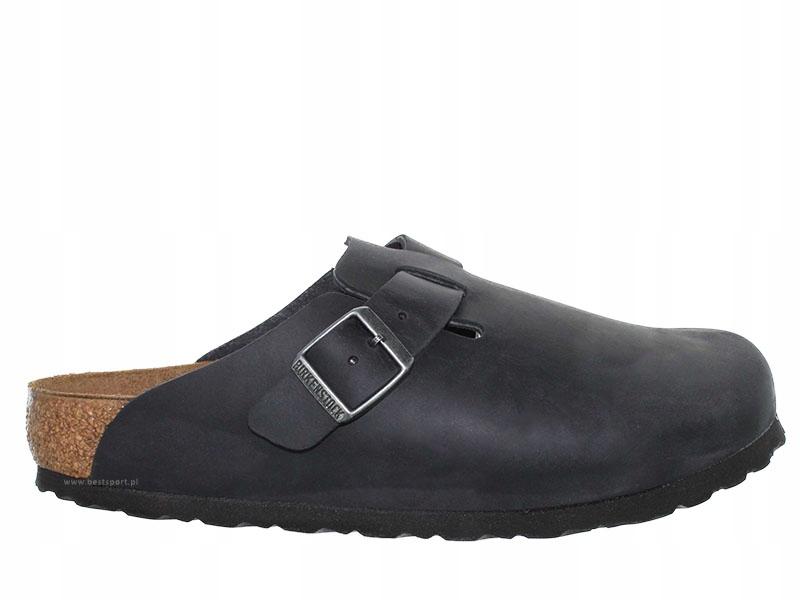 Birkenstock Boston NU S czarne (59461) 36