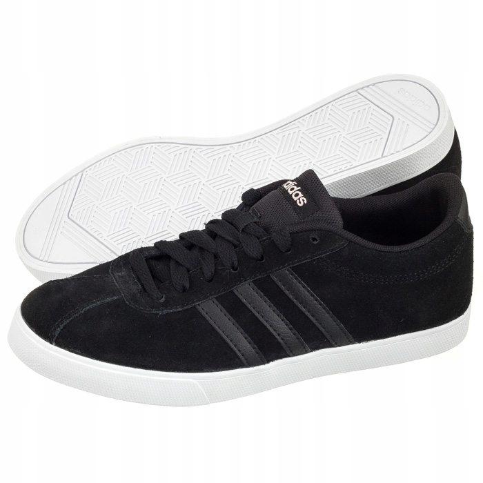 Buty Damskie adidas Courtset W BB9657 Czarne 7543852543