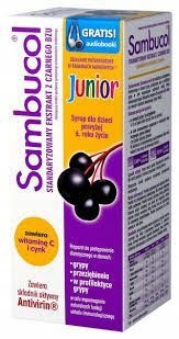 SAMBUCOL JUNIOR syrop 120 ml