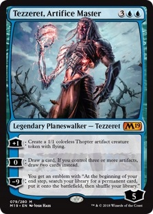Tezzeret, Artifice Master [MTG_Land]