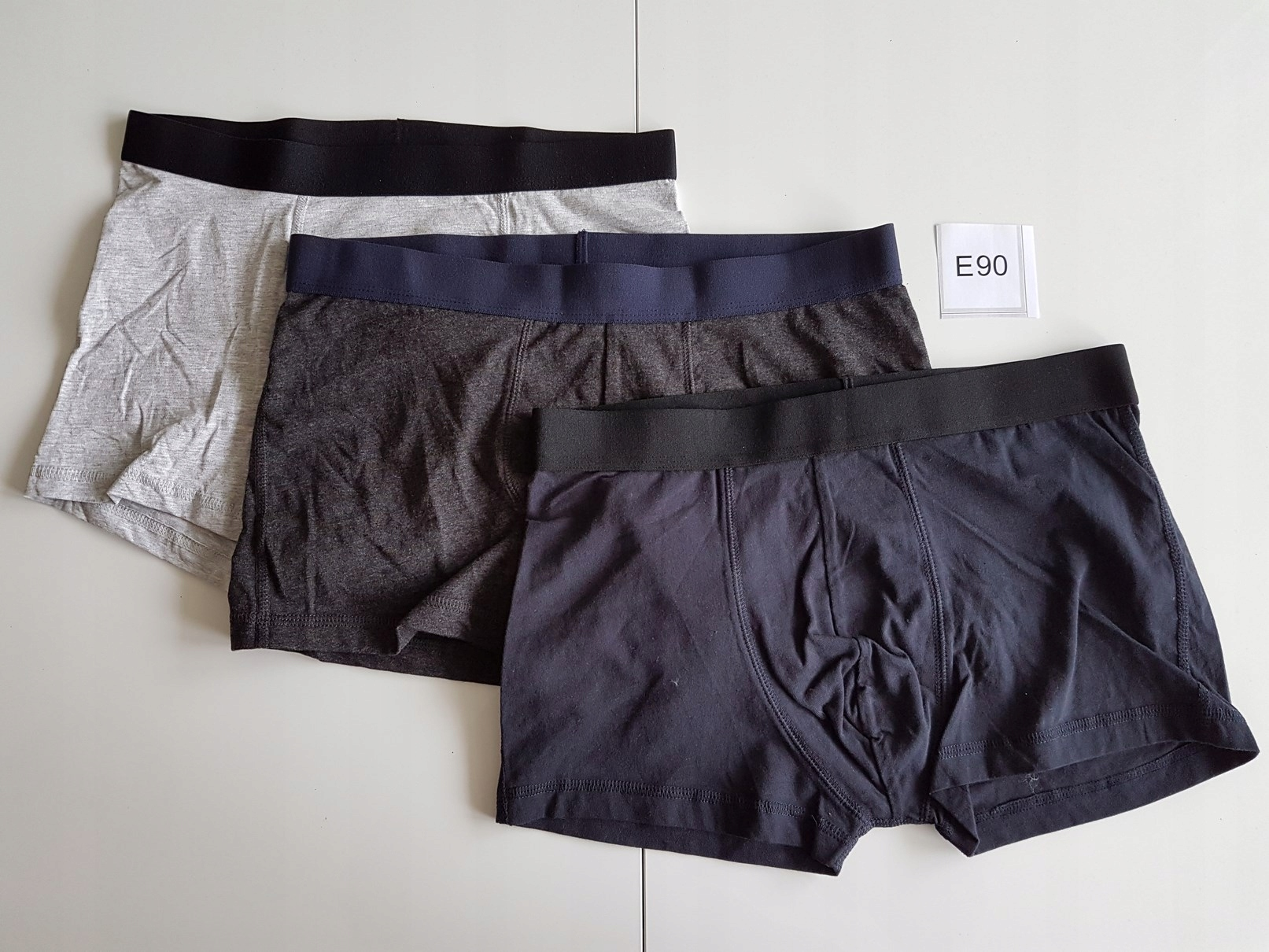 BOKSERKI majtki H&M rozm: M 3-pak E90