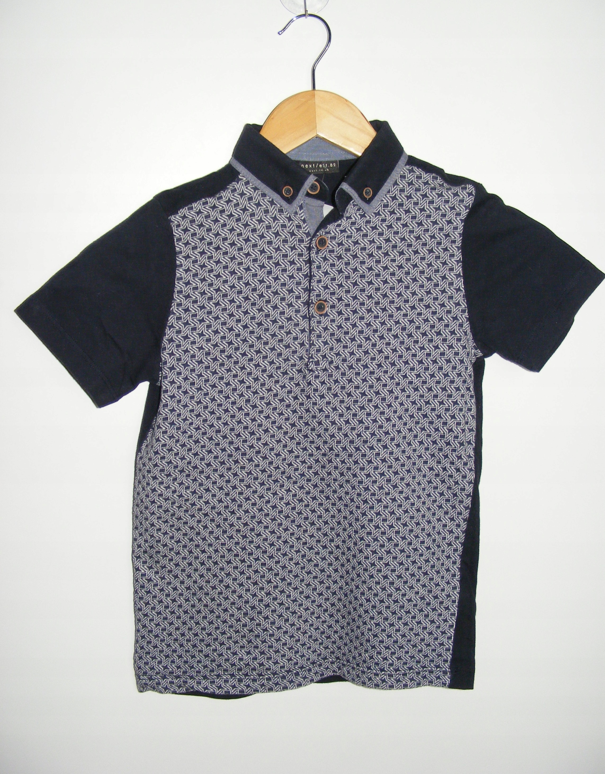 NEXT koszulka polo polówka R 7 lat 122 cm