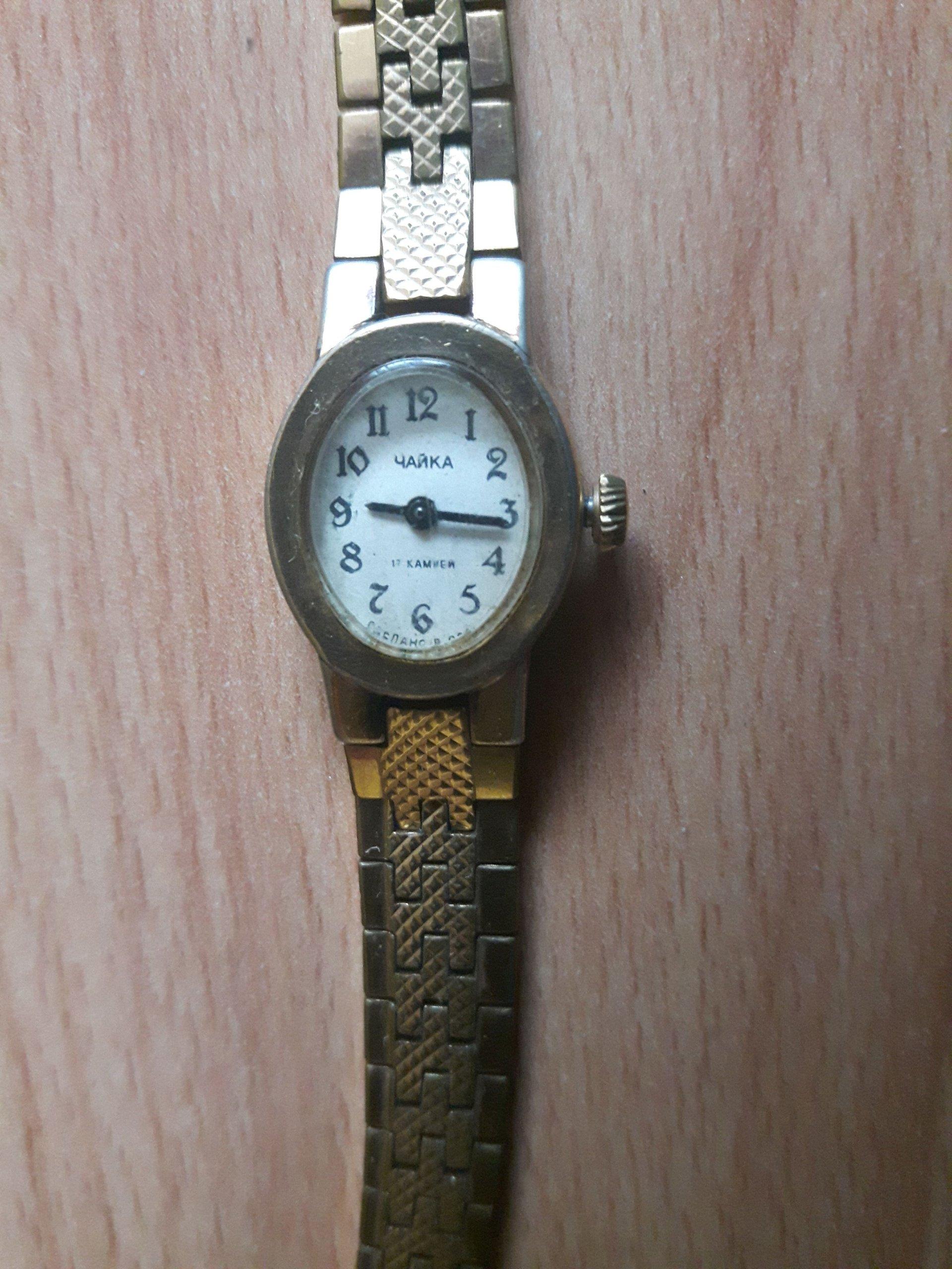 3924ce04dad Zegarek mechaniczny damski Czajka CCCP niesprawny - 7180608349 - oficjalne  archiwum allegro