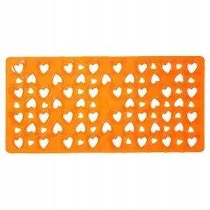 Gedy mata antypoślizgowa 36 x 75 cm pomarańczowa