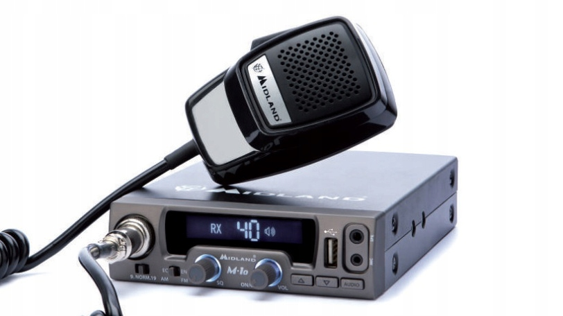 RADIO CB MIDLAND M10, M-10, USB, NOWE