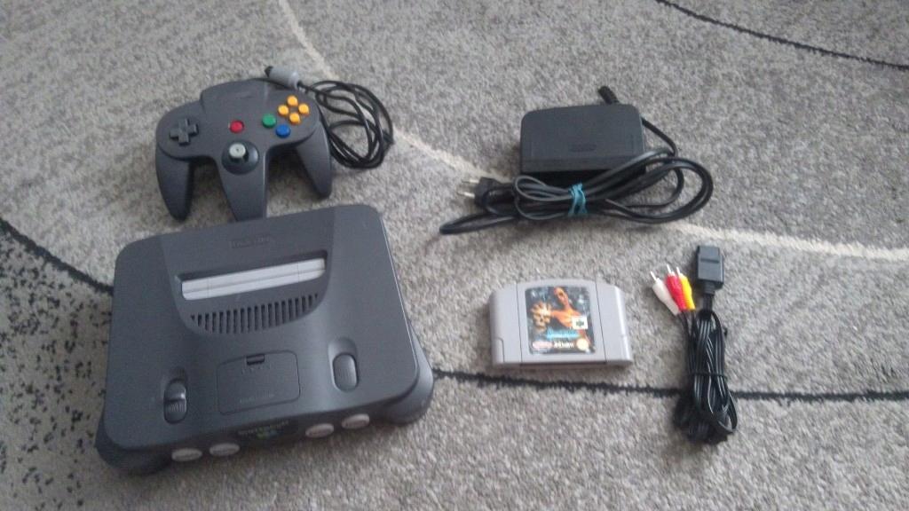Nintendo N64 zestaw sprawny z grą