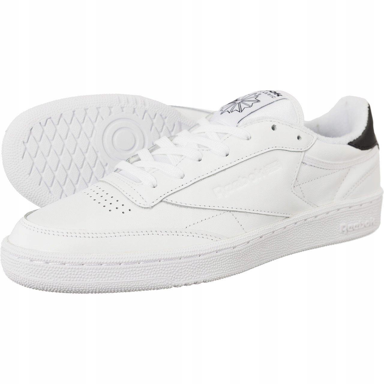 REEBOK CLUB C 85 EL 608 _45_ Uniseks Sneakersy