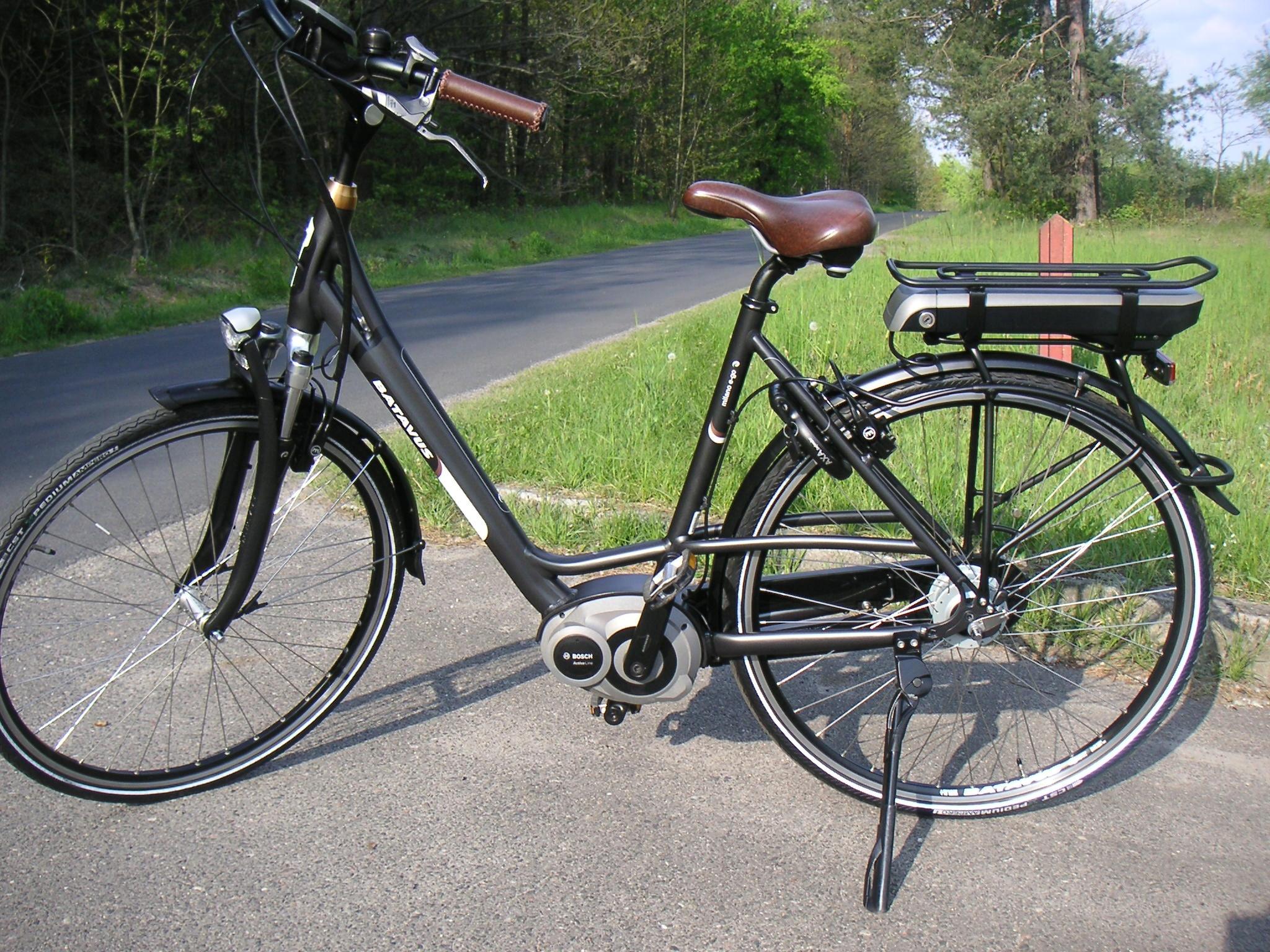 Rower elektryczny Batavus Milano ego Bosch magura