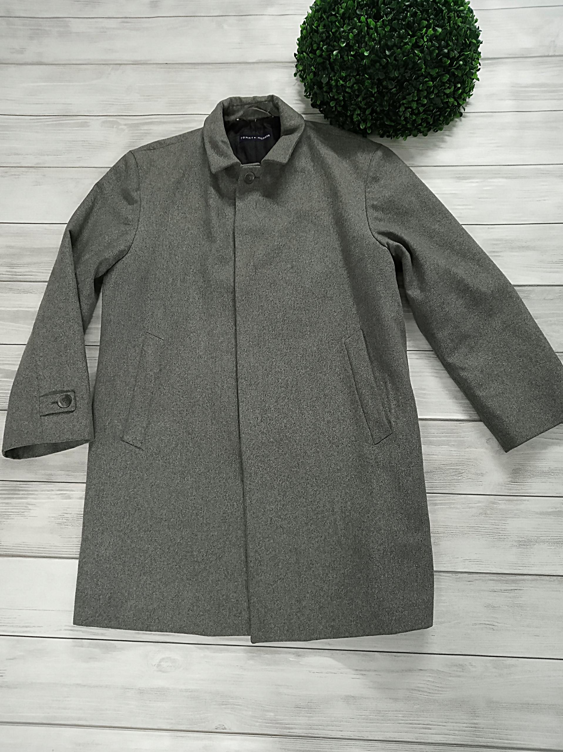płaszcz TOMMY HILFIGER 52 XL Wełna Klasyczny