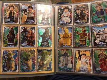 Karty Lego Star Wars saszetki na sztuki 50-99