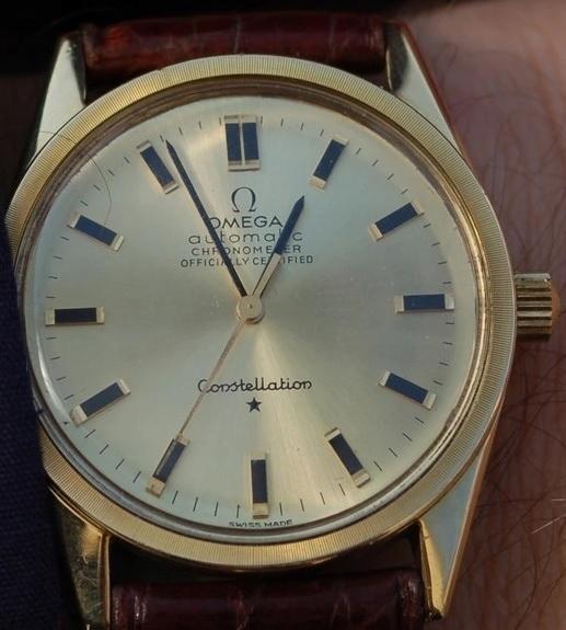 OMEGA Constellation Chronometer -etui, książeczka