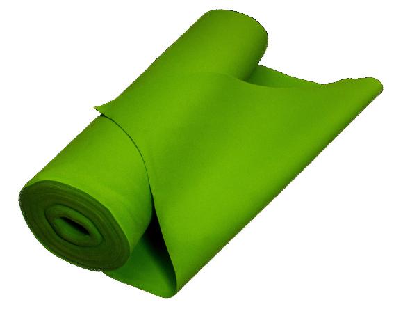 Filc ZIELONY 3 mm 300g/m2 na torebki etui 1.5 m2