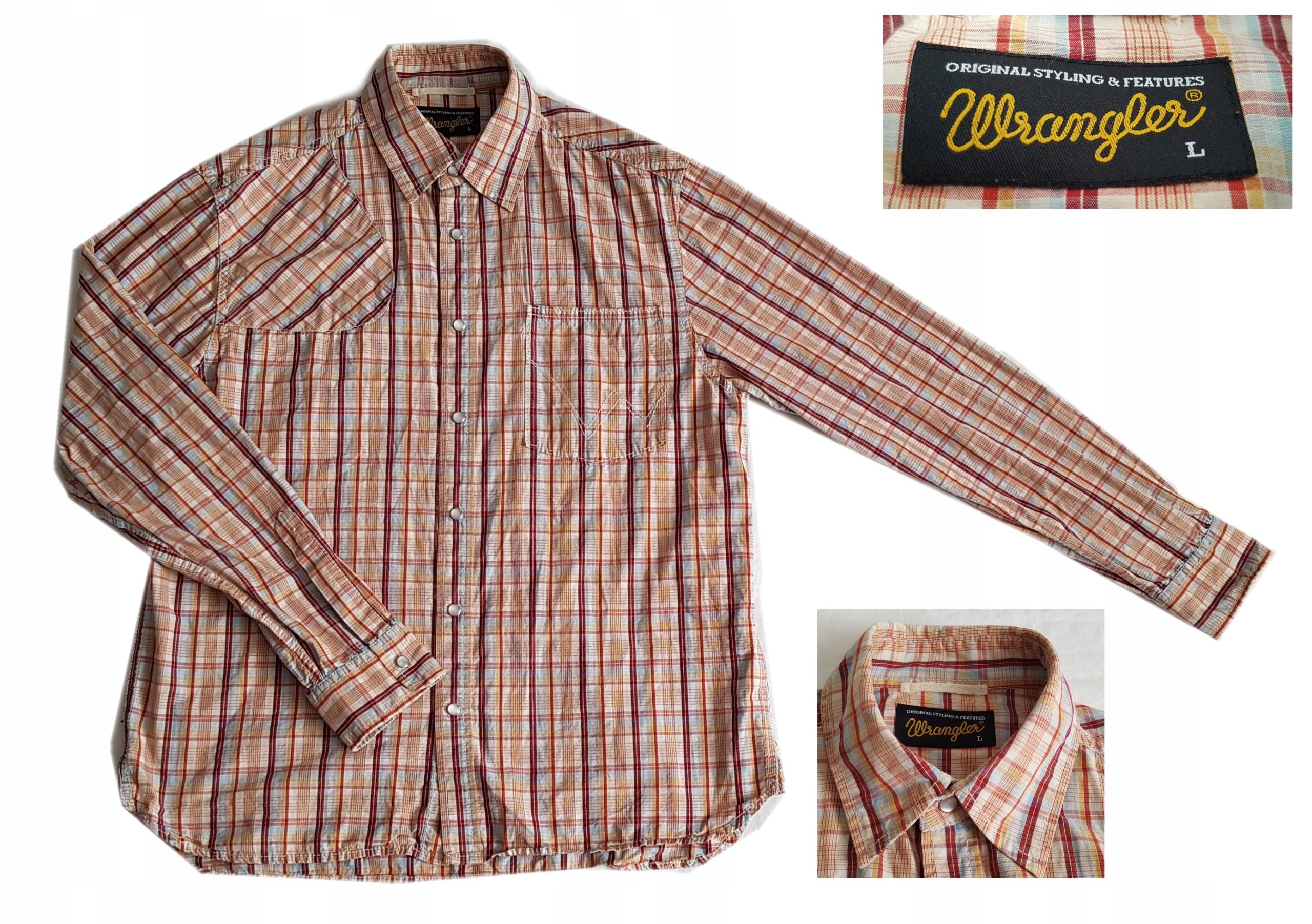 Koszula Wrangler rozmiar M
