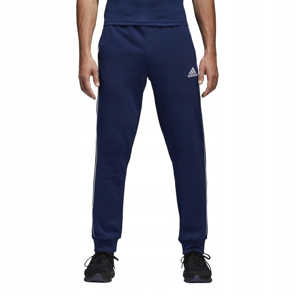 Spodnie adidas CORE 18 SW PNT CV3753 L granatowy