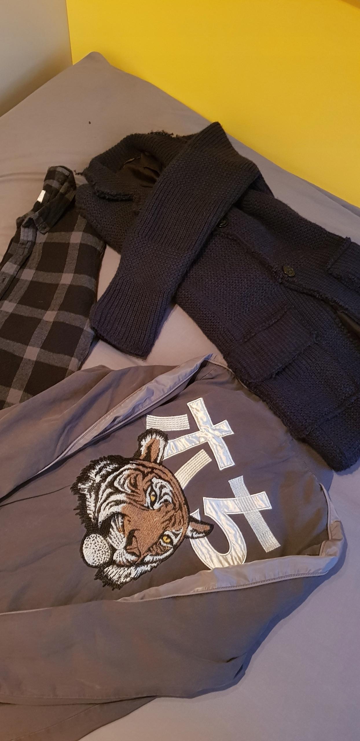 MEGA PAKA MĘSKICH UBRAŃ S/M-Zara,H&M, Bershka!