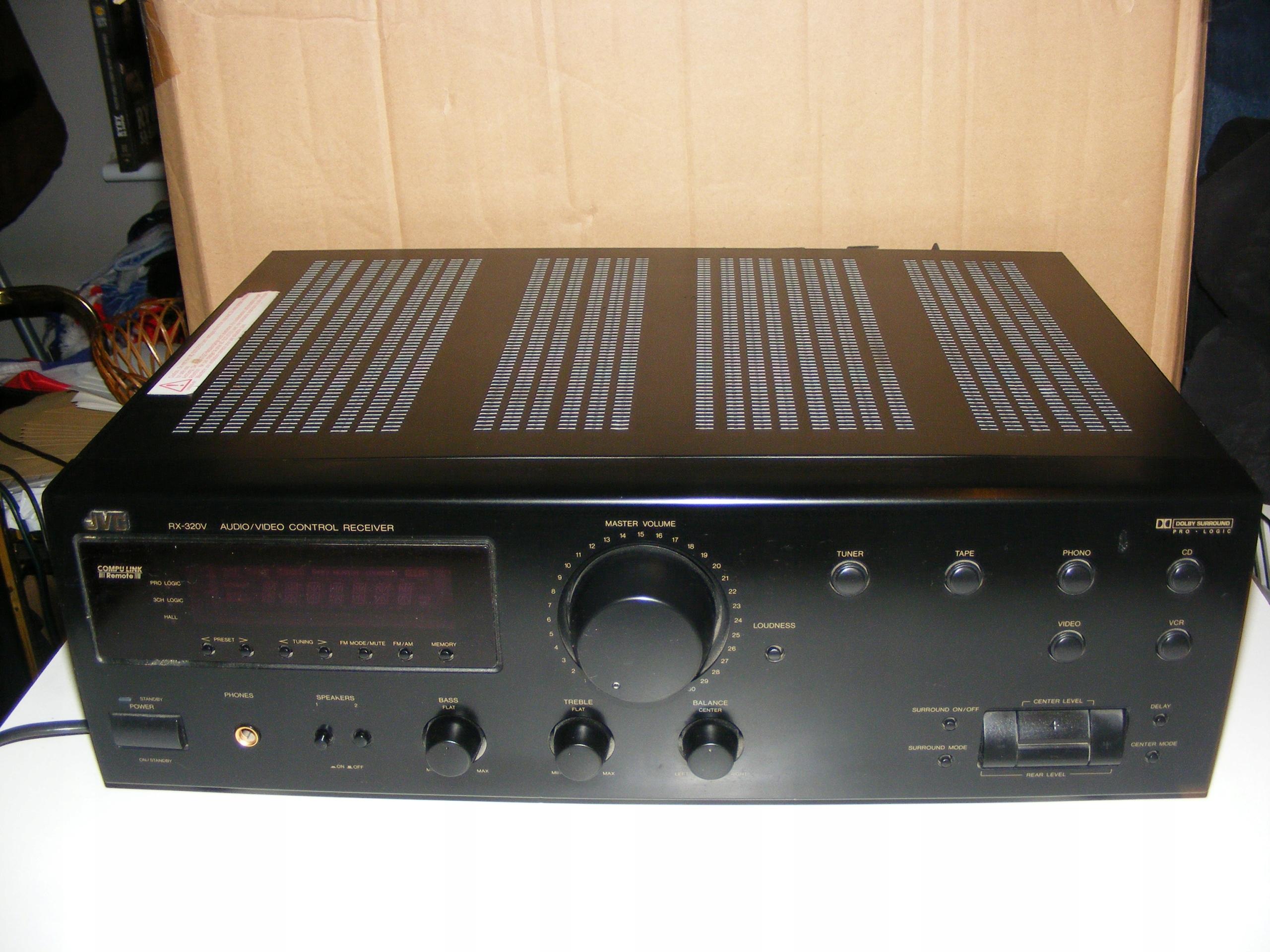 A/V RECEIVER JVC RX- 320