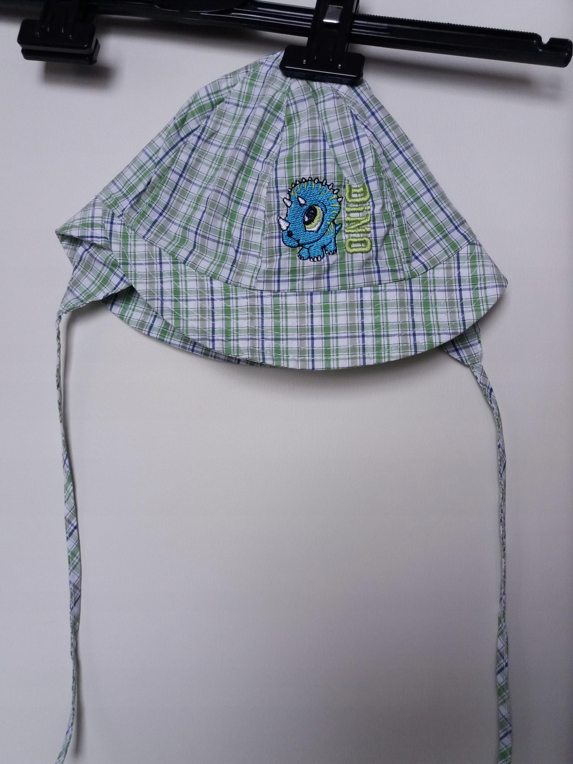 Czapka kapelusz lato r. 48, obw. 44 cm, idealny