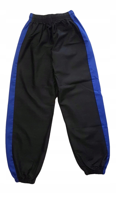 Spodnie kimono czarne ok 160 cm ściągacze