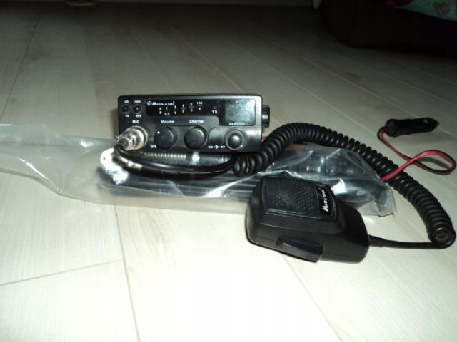 Peiying antena CB CB001 + RADIO CB ALAN 101