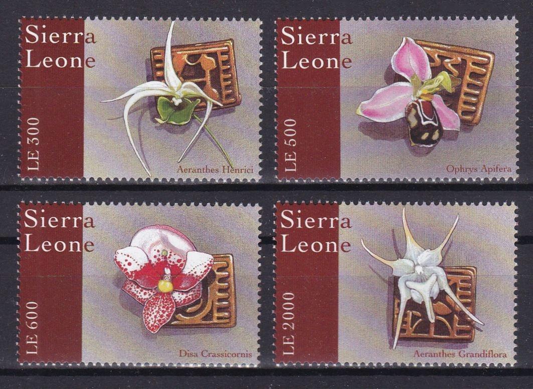 SIERRA LEONE - FLORA - 2000 r. - MNH(**)