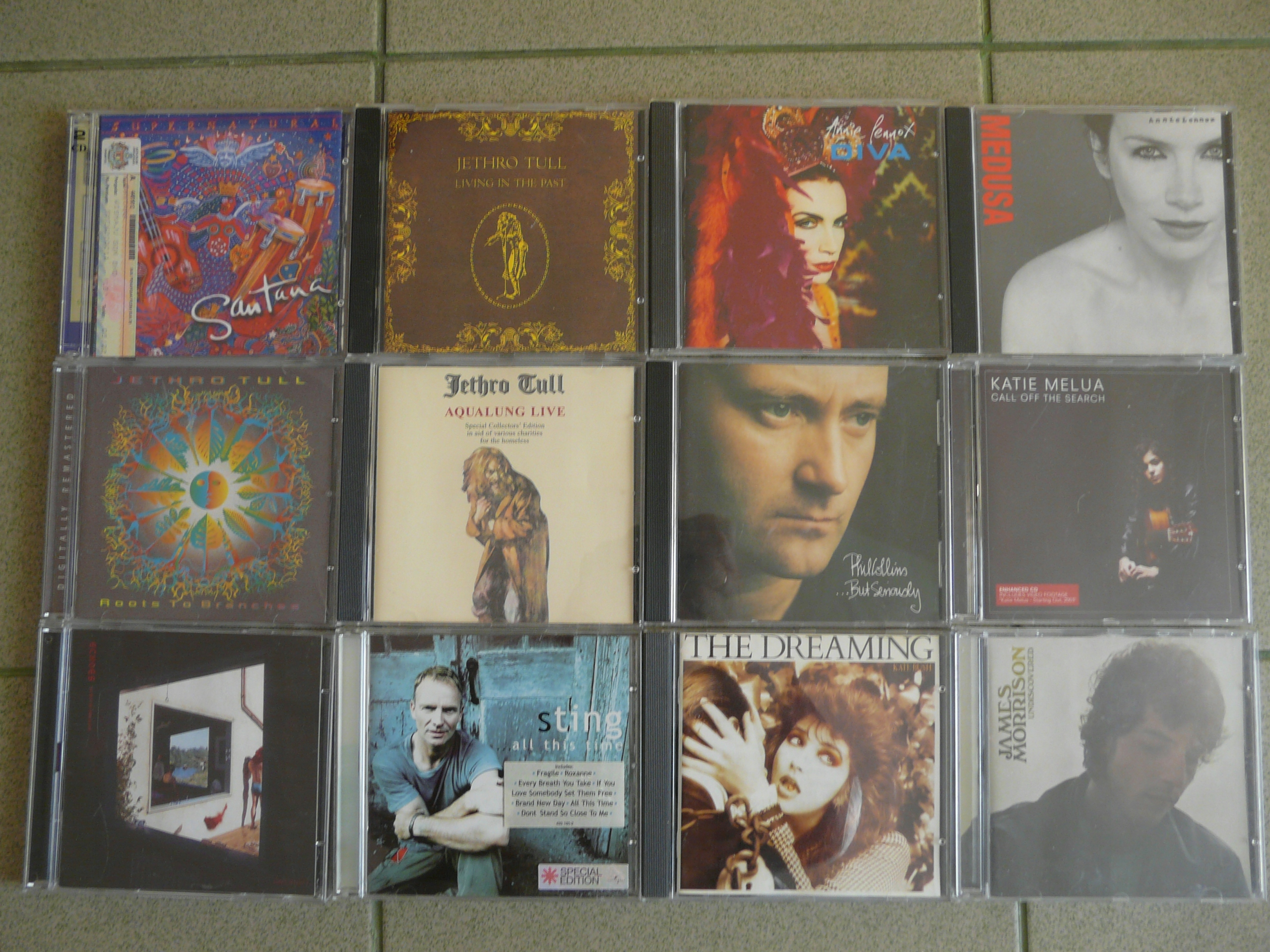 super pakiet 13 płyt CD wydania oryginalne zachodn