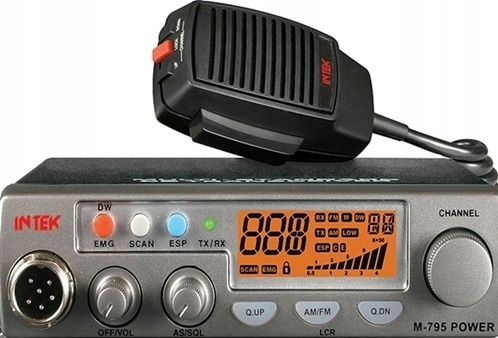 RADIO CB INTEK M-795 PLUS AM/FM z skanerem Hit