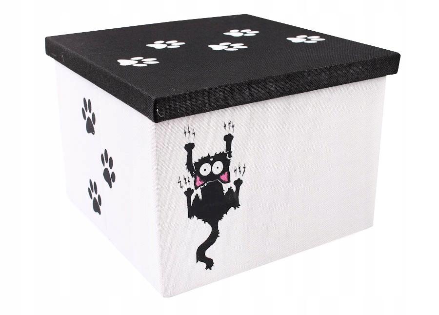 """Pudełko z pokrywką """"kotek"""" - składane 32"""