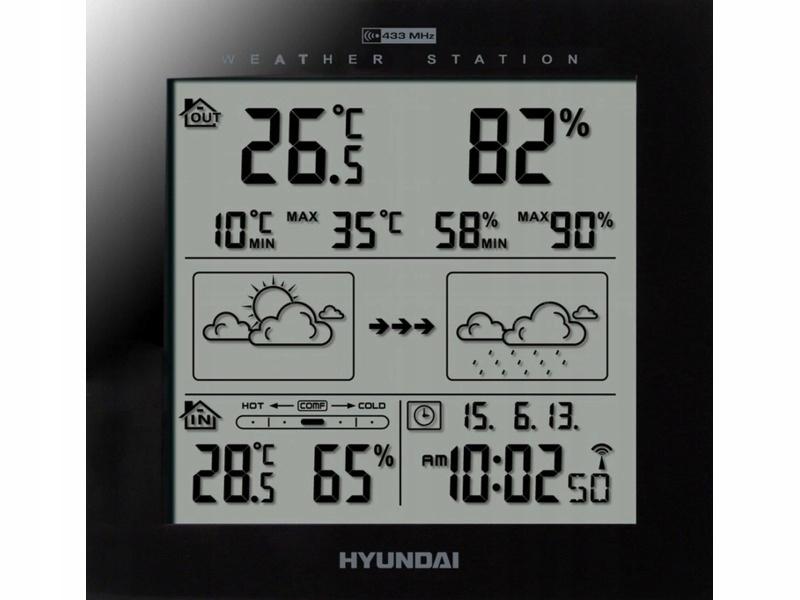 Stacja meteo HYUNDAI WS2244B