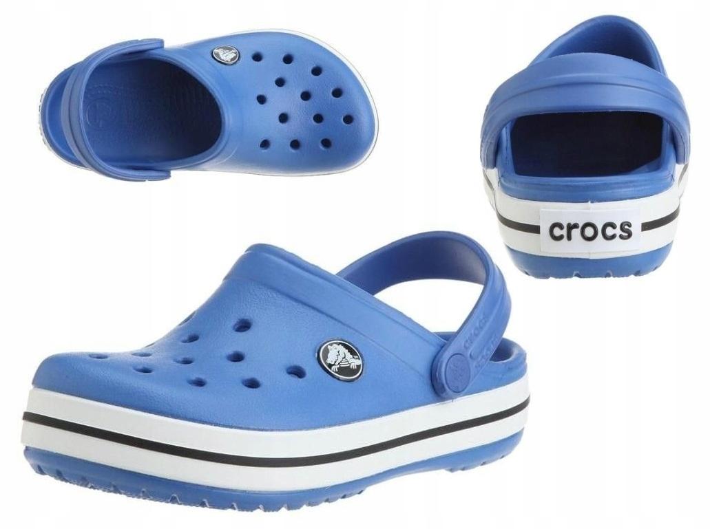 Crocs Crocband Niebieskie dla dzieci 22-24 C6/7