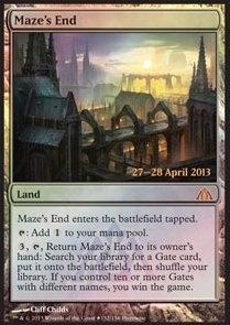 MtG - Maze's End (PRE) - FOIL