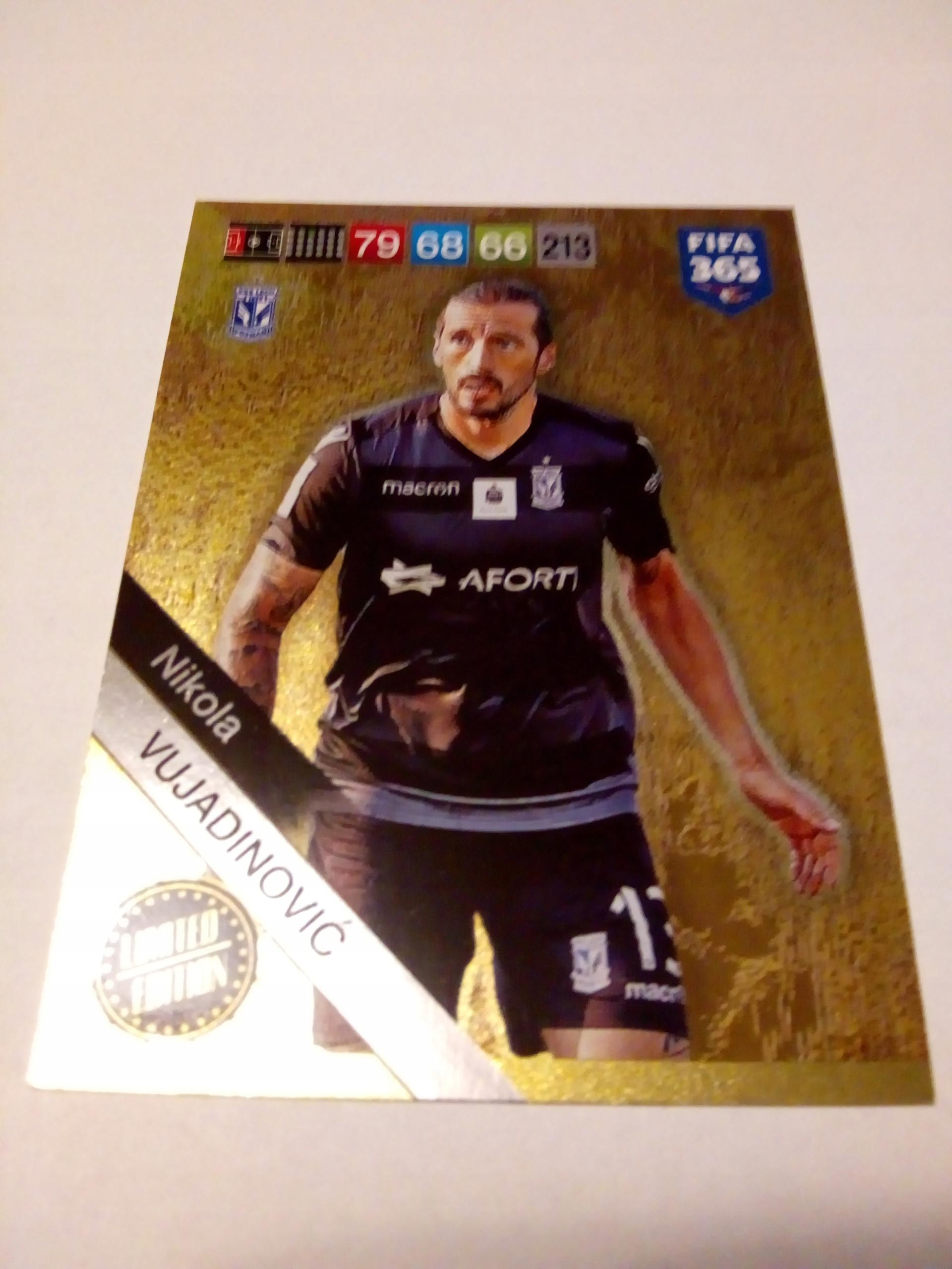 Karta Limited Vujadinović - FIFA 365 2019